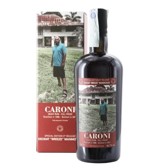 rum employees 5th release deodat breeze manmohan 1996 70 cl caroni - enoteca pirovano