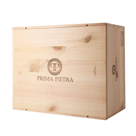prima pietra igt 2017 tenuta prima pietra 6 x 75 cl in wooden box - enoteca pirovano
